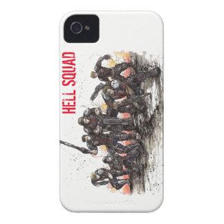 Coque iPhone 4 Cas de téléphone de peloton d'enfer