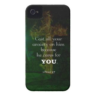 Coque iPhone 4 Case-Mate 1 5:7 de Peter élevant la citation de vers de