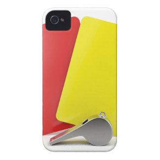 Coque iPhone 4 Case-Mate Attributs d'arbitre du football