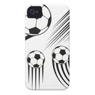 Coque iPhone 4 Case-Mate Ballons de football