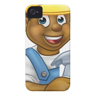 Coque iPhone 4 Case-Mate Bande dessinée de charpentier de constructeur