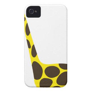 Coque iPhone 4 Case-Mate beau heureux de bébé de girafe de joie animale
