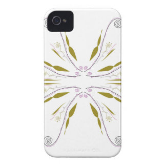Coque iPhone 4 Case-Mate Blanc de mandala de conception