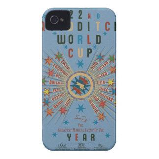 Coque iPhone 4 Case-Mate Bleu de coupe du monde de QUIDDITCH™