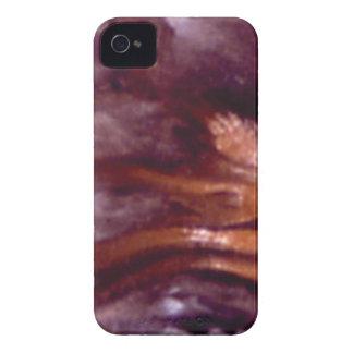 Coque iPhone 4 Case-Mate blocs pourpres et oranges