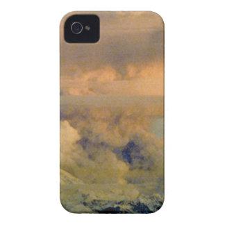 Coque iPhone 4 Case-Mate boom volcanique