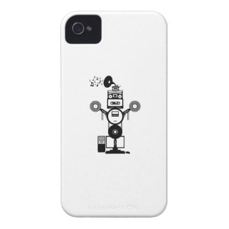 Coque iPhone 4 Case-Mate Bot de musique