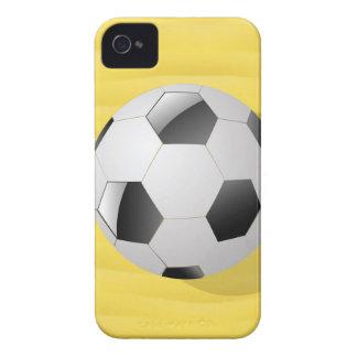 Coque iPhone 4 Case-Mate boule du football