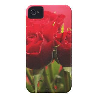 Coque iPhone 4 Case-Mate Bouquet des fleurs de jour de Valentines de roses
