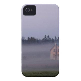 Coque iPhone 4 Case-Mate Brouillard de matin d'île, île de St Joseph