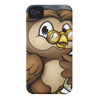 Coque iPhone 4 Case-Mate Caractère sage de diplômé de hibou