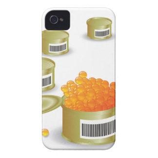 Coque iPhone 4 Case-Mate Caviar rouge