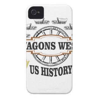 Coque iPhone 4 Case-Mate chariots occidentaux nous histoire