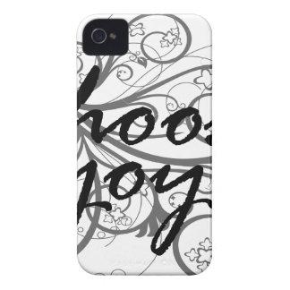 Coque iPhone 4 Case-Mate choisissez la joie