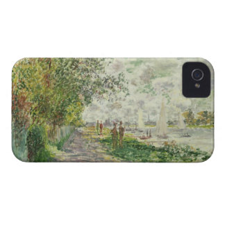 Coque iPhone 4 Case-Mate Claude Monet | la rive chez Gennevilliers