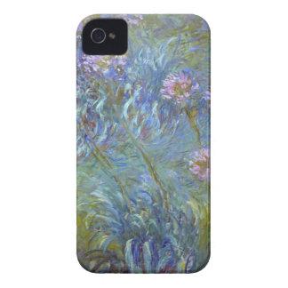 Coque iPhone 4 Case-Mate Claude Monet - peinture classique de fleurs