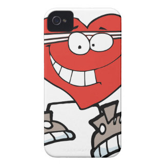 Coque iPhone 4 Case-Mate coeur d'exercice