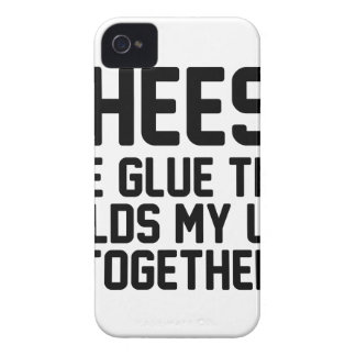 Coque iPhone 4 Case-Mate Colle de fromage