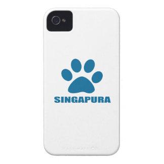 COQUE iPhone 4 Case-Mate CONCEPTIONS DE CAT DE SINGAPURA