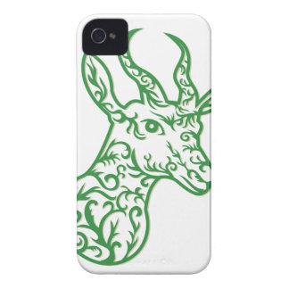 Coque iPhone 4 Case-Mate Coupe principale de papier de springbok