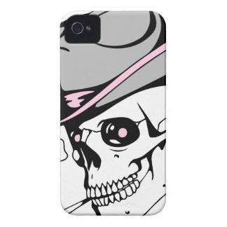 Coque iPhone 4 Case-Mate crâne rose d'oeil