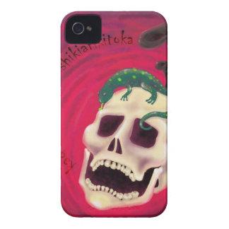 Coque iPhone 4 Case-Mate crâne salamandre