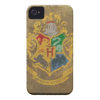 Coque iPhone 4 Case-Mate Crête de Harry Potter | Hogwarts - bleu