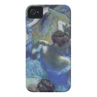 Coque iPhone 4 Case-Mate Danseurs de bleu d'Edgar Degas |, c.1899