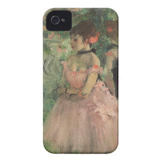 Coque iPhone 4 Case-Mate Danseurs d'Edgar Degas | à l'arrière plan,