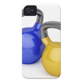 Coque iPhone 4 Case-Mate Deux kettlebells