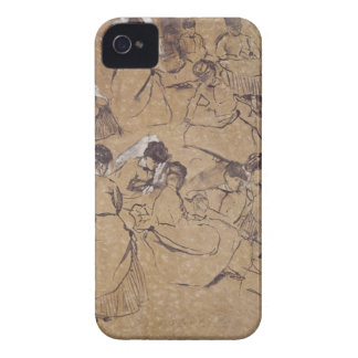 Coque iPhone 4 Case-Mate Edgar Degas | douze études des femmes dans le