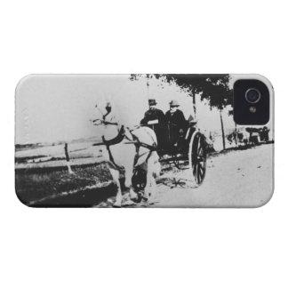 Coque iPhone 4 Case-Mate Edgar Degas | Edgar Degas et un ami