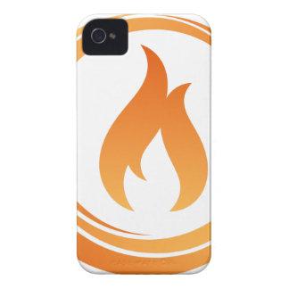 Coque iPhone 4 Case-Mate Éléments du feu
