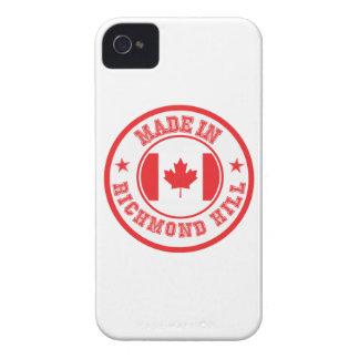 Coque iPhone 4 Case-Mate Fait en colline de Richmond
