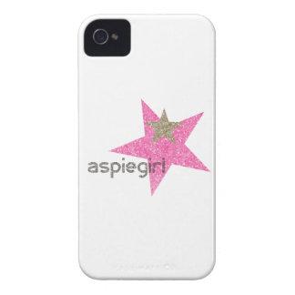 Coque iPhone 4 Case-Mate Femme d'Aspiegirl avec Aspergers
