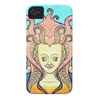 Coque iPhone 4 Case-Mate femme poulpe