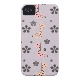 Coque iPhone 4 Case-Mate FILLE GIRRAFE Playland