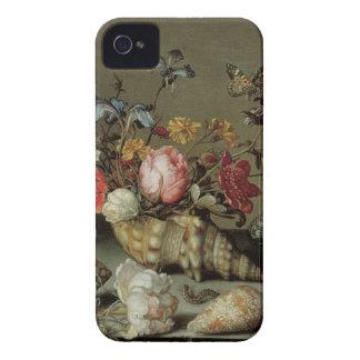 Coque iPhone 4 Case-Mate Fleurs, coquilles et Insects Balthasar van der Ast