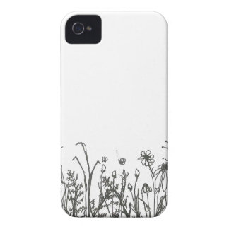 Coque iPhone 4 Case-Mate fleurs sauvages