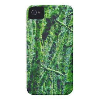Coque iPhone 4 Case-Mate Forêt verte
