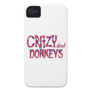 Coque iPhone 4 Case-Mate Fou au sujet des ânes