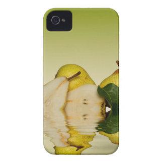 Coque iPhone 4 Case-Mate Fruit vert frais de poires