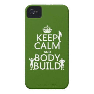 Coque iPhone 4 Case-Mate Gardez la construction de calme et de corps