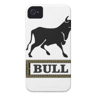Coque iPhone 4 Case-Mate grand taureau noir