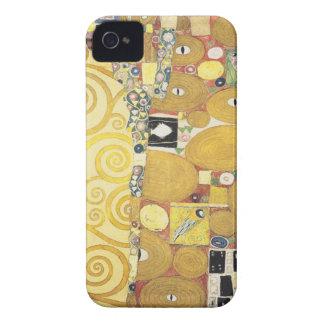 Coque iPhone 4 Case-Mate Gustav Klimt - l'étreinte - illustration classique