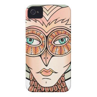 Coque iPhone 4 Case-Mate Hibou de mascarade
