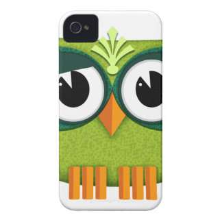 Coque iPhone 4 Case-Mate hibou vert