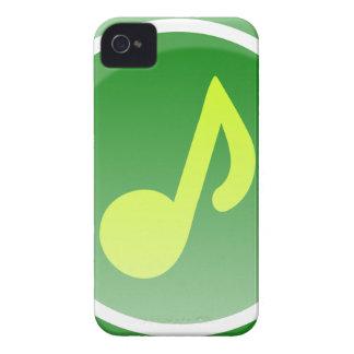 Coque iPhone 4 Case-Mate Icône de musique