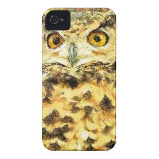 Coque iPhone 4 Case-Mate Illustration mignonne de hibou