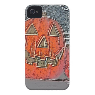 Coque iPhone 4 Case-Mate Jack-o'-lantern